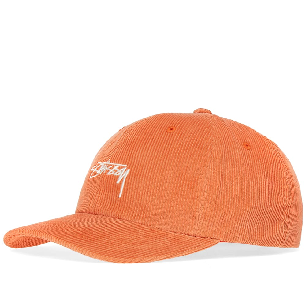 2607a0cca92a8 Stussy Corduroy Low Pro Cap Orange