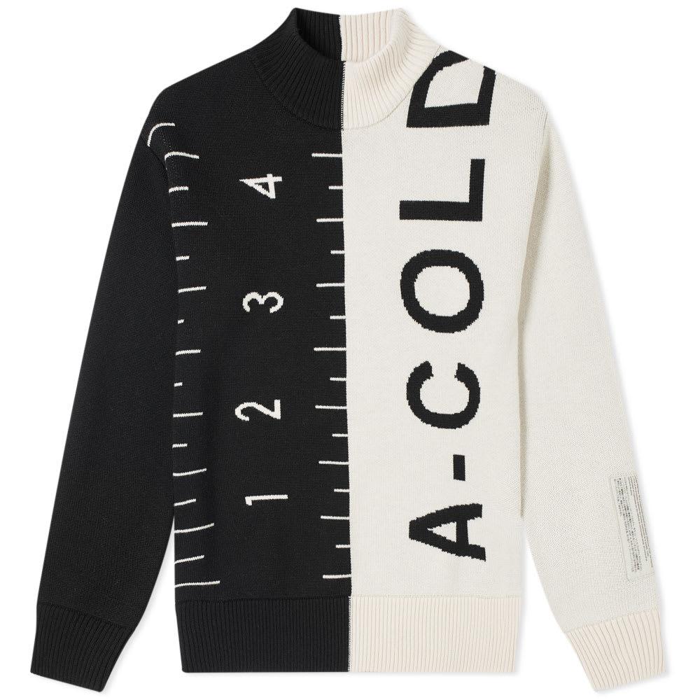 A-Cold-Wall* A-COLD-WALL* Jacquard Split Garment Knit