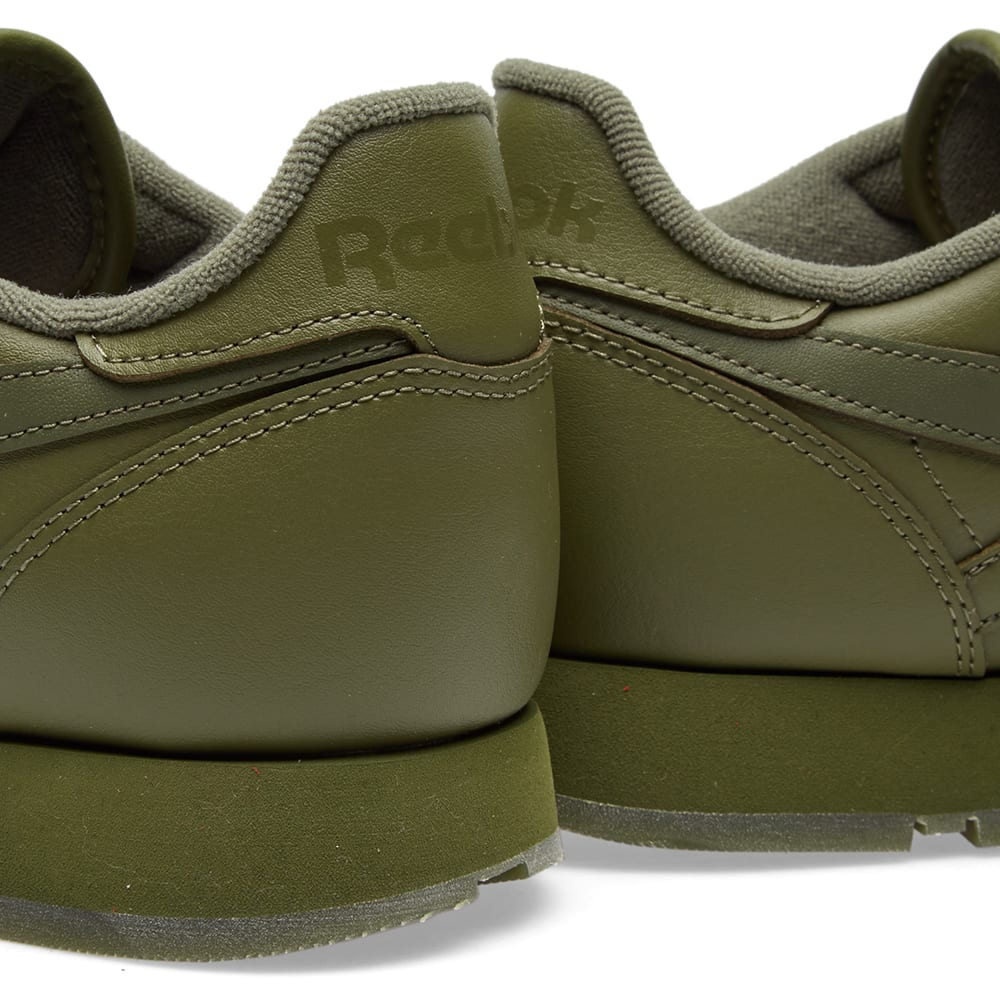 241fd0ed280 Reebok Classic Leather Solids Canopy Green