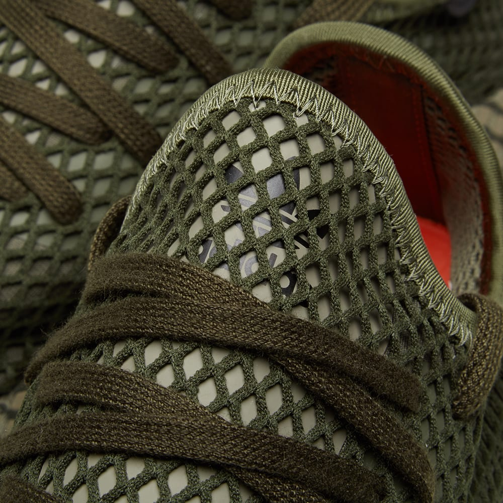 1f8248c96 Adidas Deerupt Runner Base Green   Orange