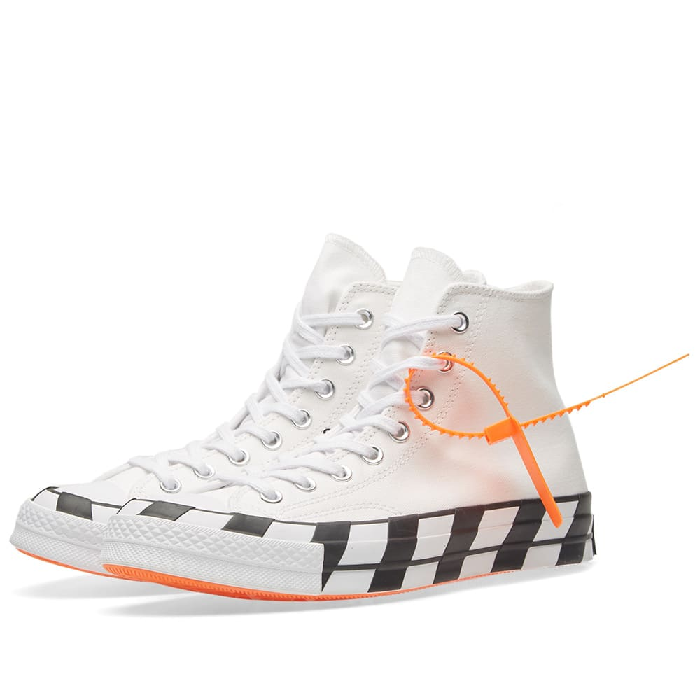 709b5a19b87625 Converse x Off-White Chuck 70 Optical White