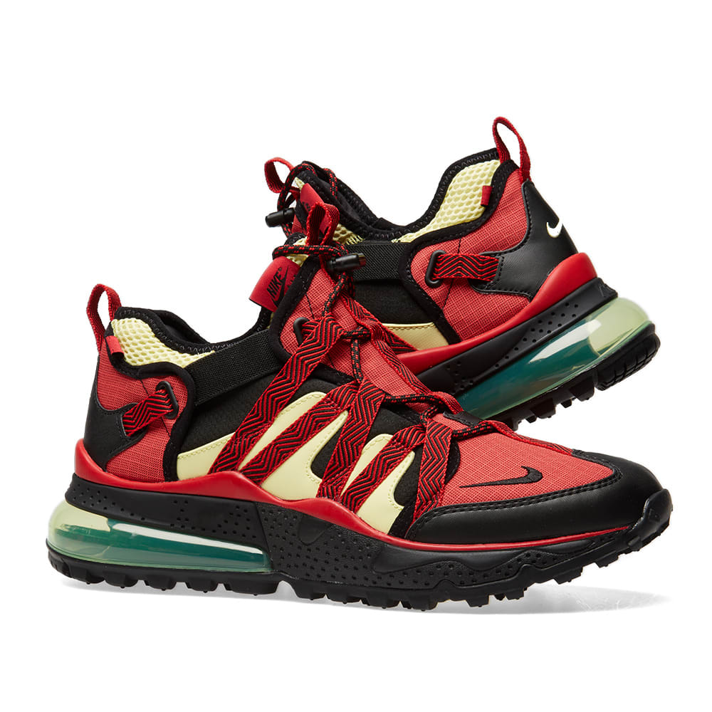 a52ceedae3 Nike Air Max 270 Bowfin. Black, University Red & Zitron. S$205. UK 10.5.  Order ...