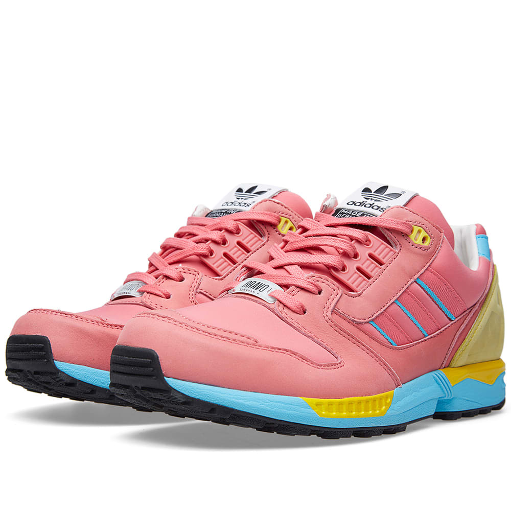 91232510d Adidas ZX 8000 BRAVO Bliss Pink   Light Aqua