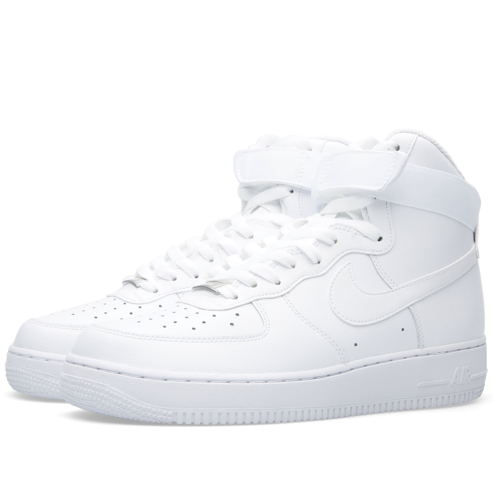 nike air force 1 high 39 07 white white. Black Bedroom Furniture Sets. Home Design Ideas