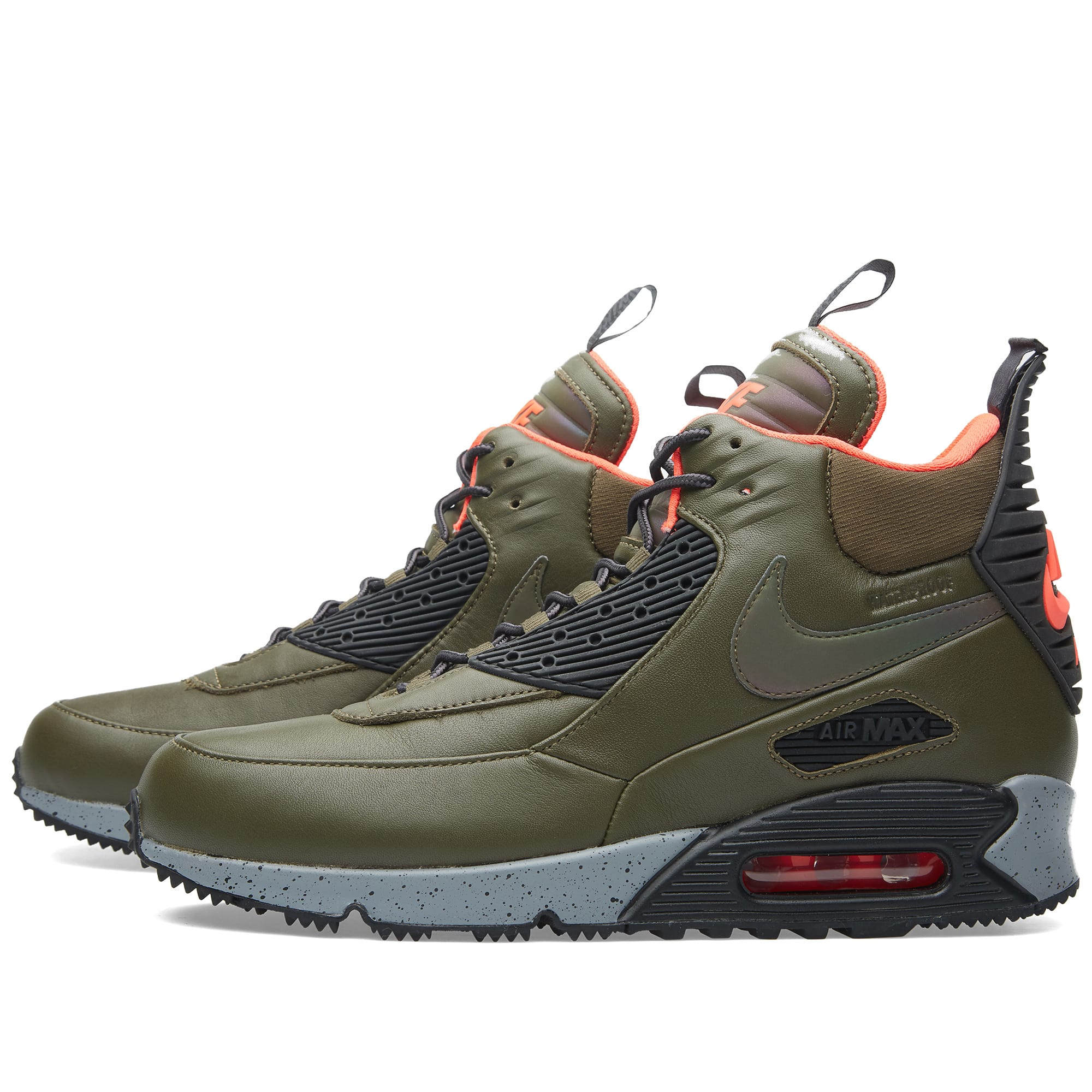 France Hommes Nike Air Max 90 Sneakerboot Dark 684714_300