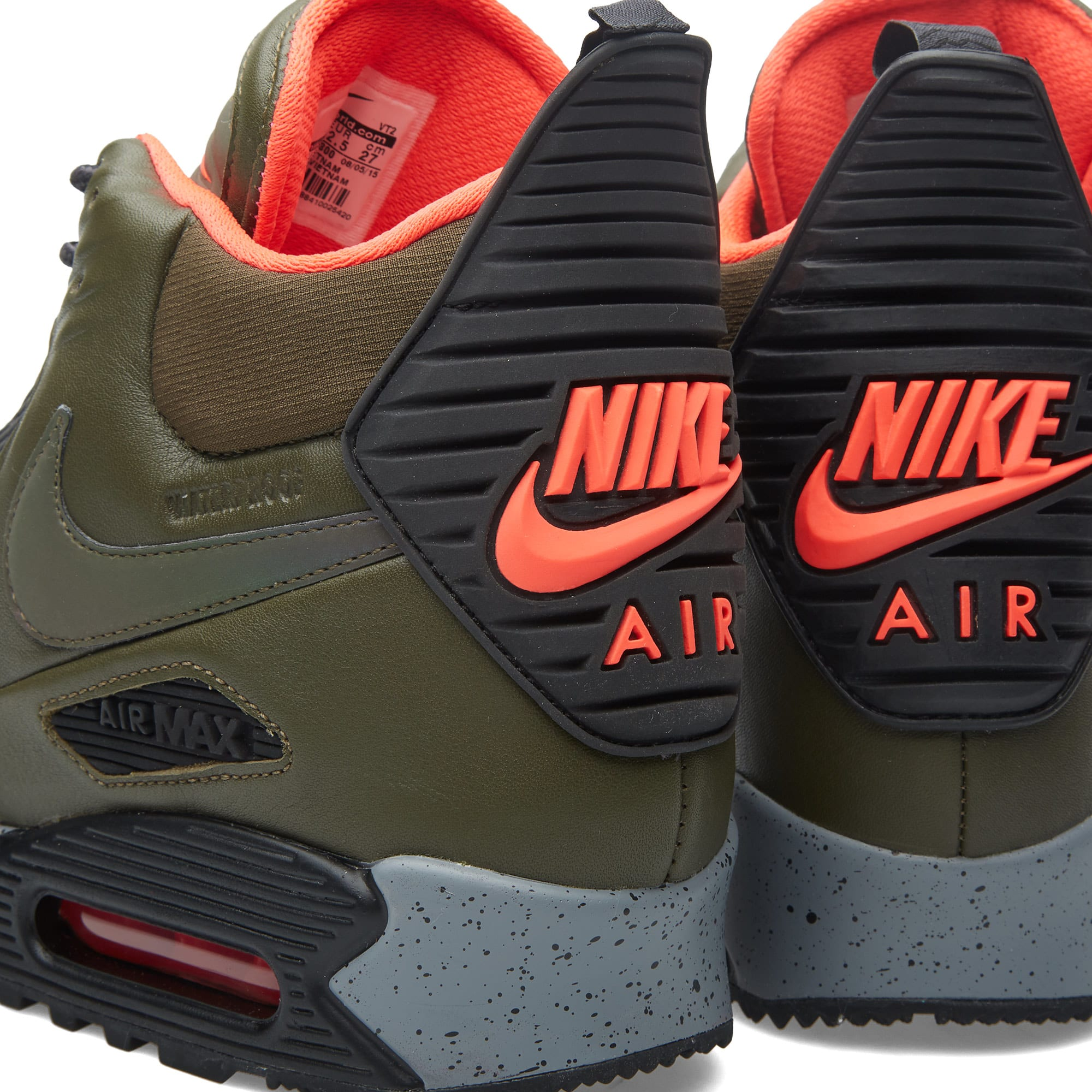 Nike Air Max 90 Sneakerboot Winter Dark