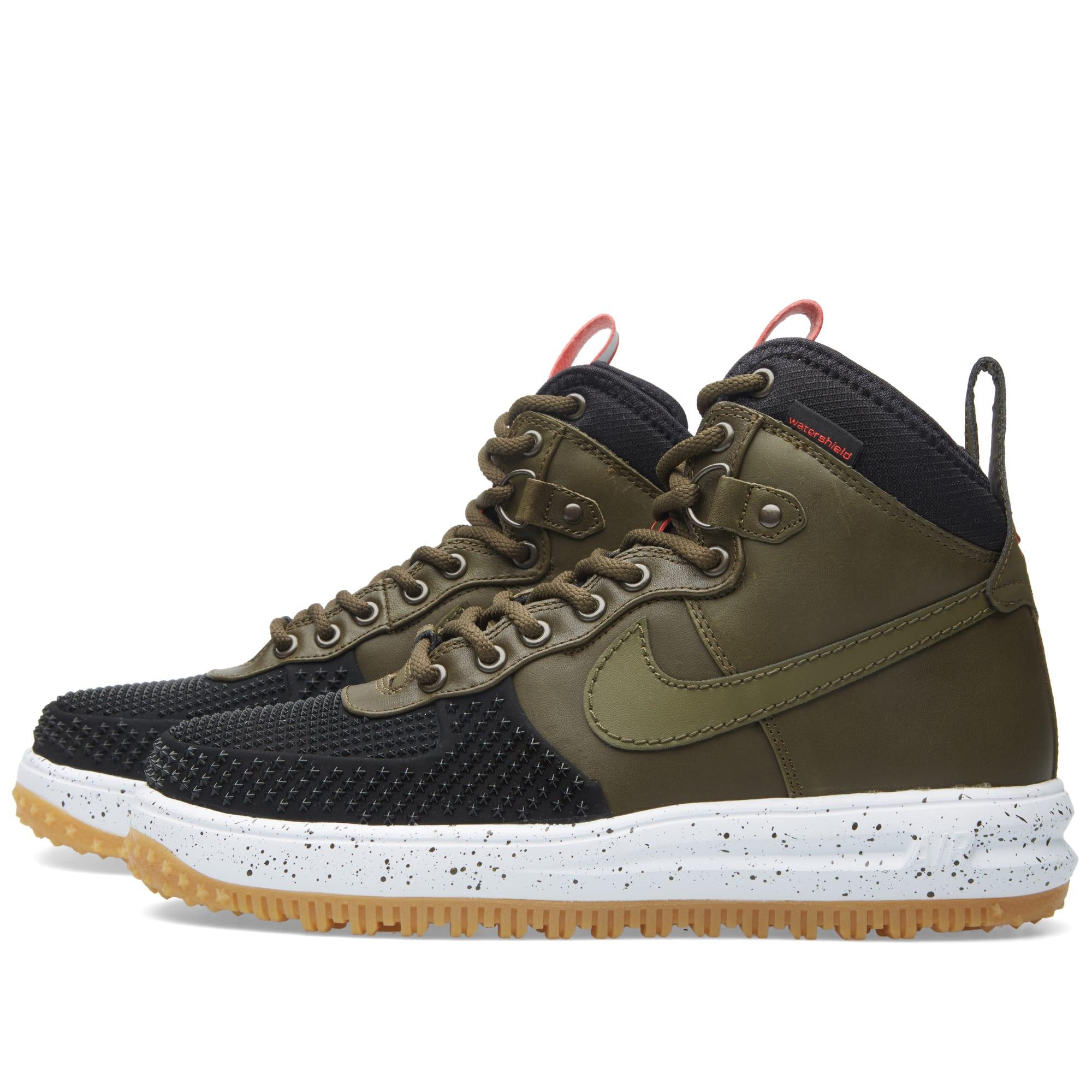 buy online 7c6dd 31d0f Nike Lunar Force 1 Duckboot Black   Dark Loden   END.