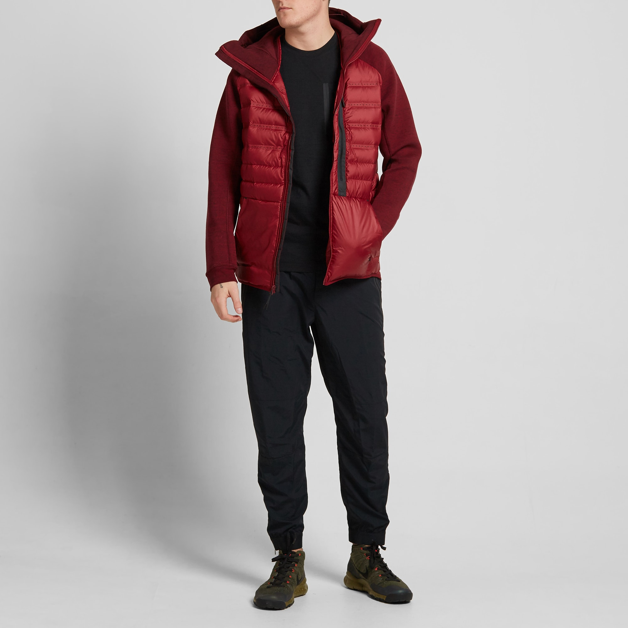 NIKE TECH Fleece AEROLOFT Jacket Men's Jacket Black 678261