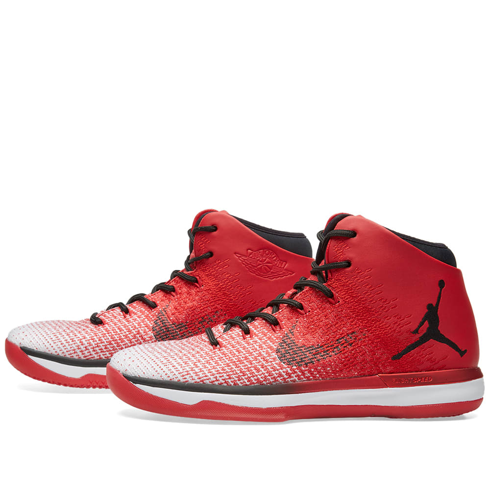 nike air jordan xxxi 39 chicago 39 university red black. Black Bedroom Furniture Sets. Home Design Ideas