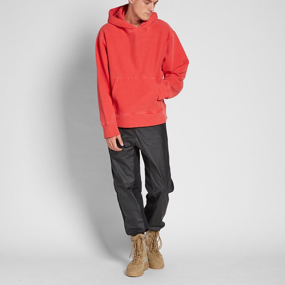 yeezy season 3 fleece hoody fluoro red. Black Bedroom Furniture Sets. Home Design Ideas