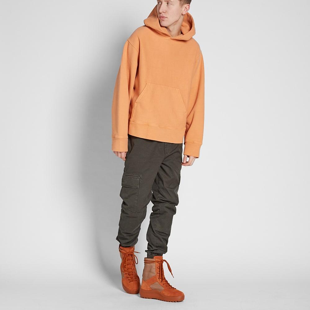 yeezy season 3 hoody warning orange. Black Bedroom Furniture Sets. Home Design Ideas