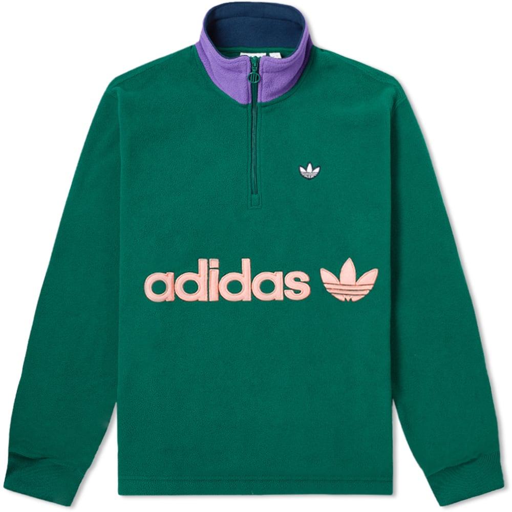 Adidas Samstag Half Zip Polarfleece