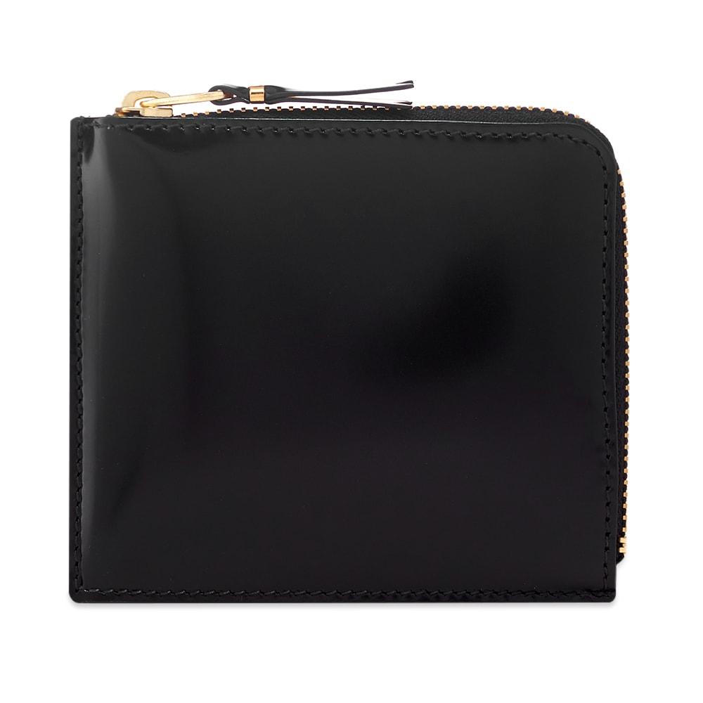 Comme Des GarÇOns Comme Des Garcons Sa3100Mi Mirror Inside Wallet In Black