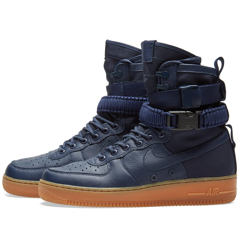 quality design 3db6d d6568 Nike SF Air Force 1 Boot Midnight Navy | END.