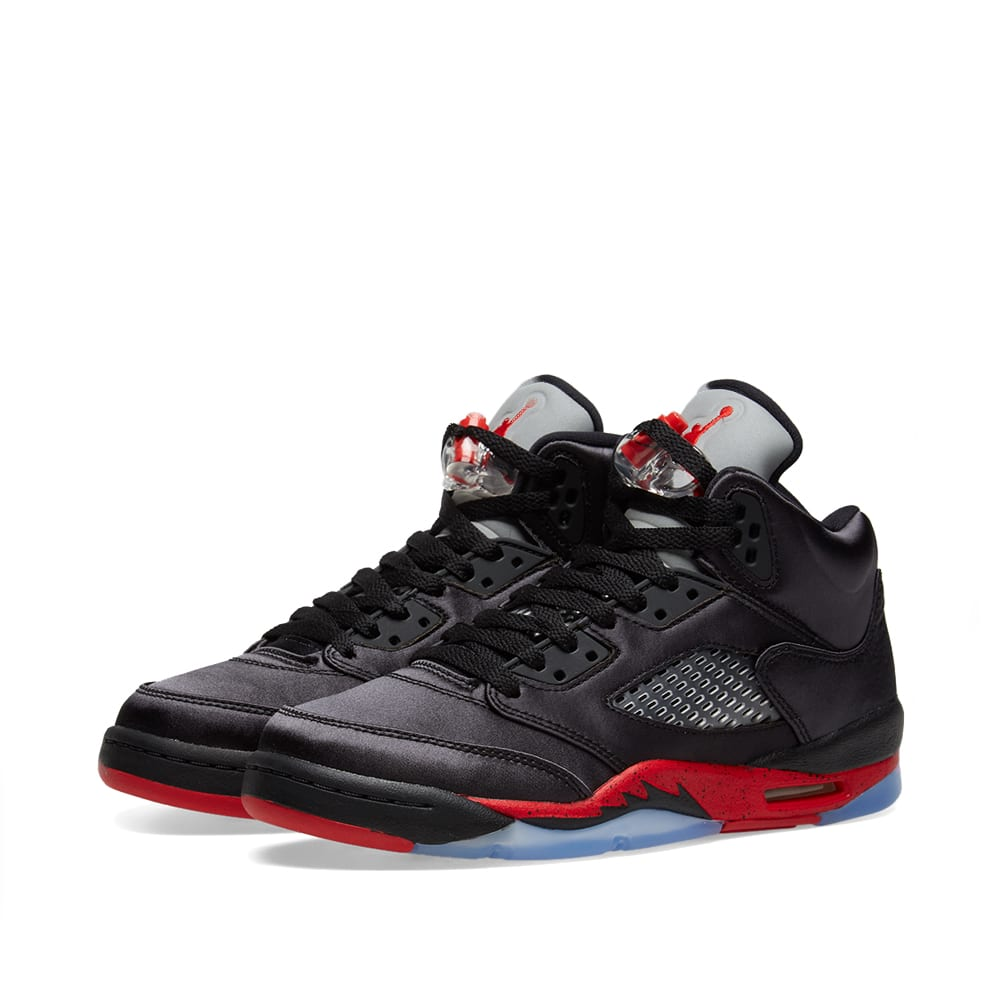 hot sale online a3730 6d8f3 Air Jordan 5 Retro GS Black   University Red   END.