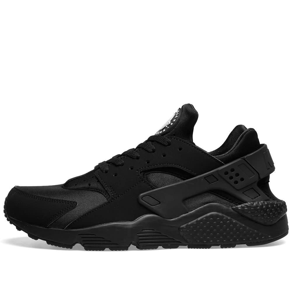 check out 04c14 a6cb0 Nike Air Huarache  Triple Black  Black   END.
