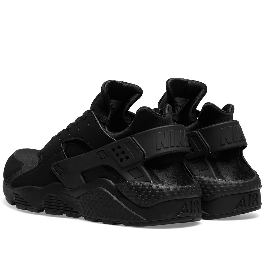 check out 913a2 57407 Nike Air Huarache  Triple Black  Black   END.