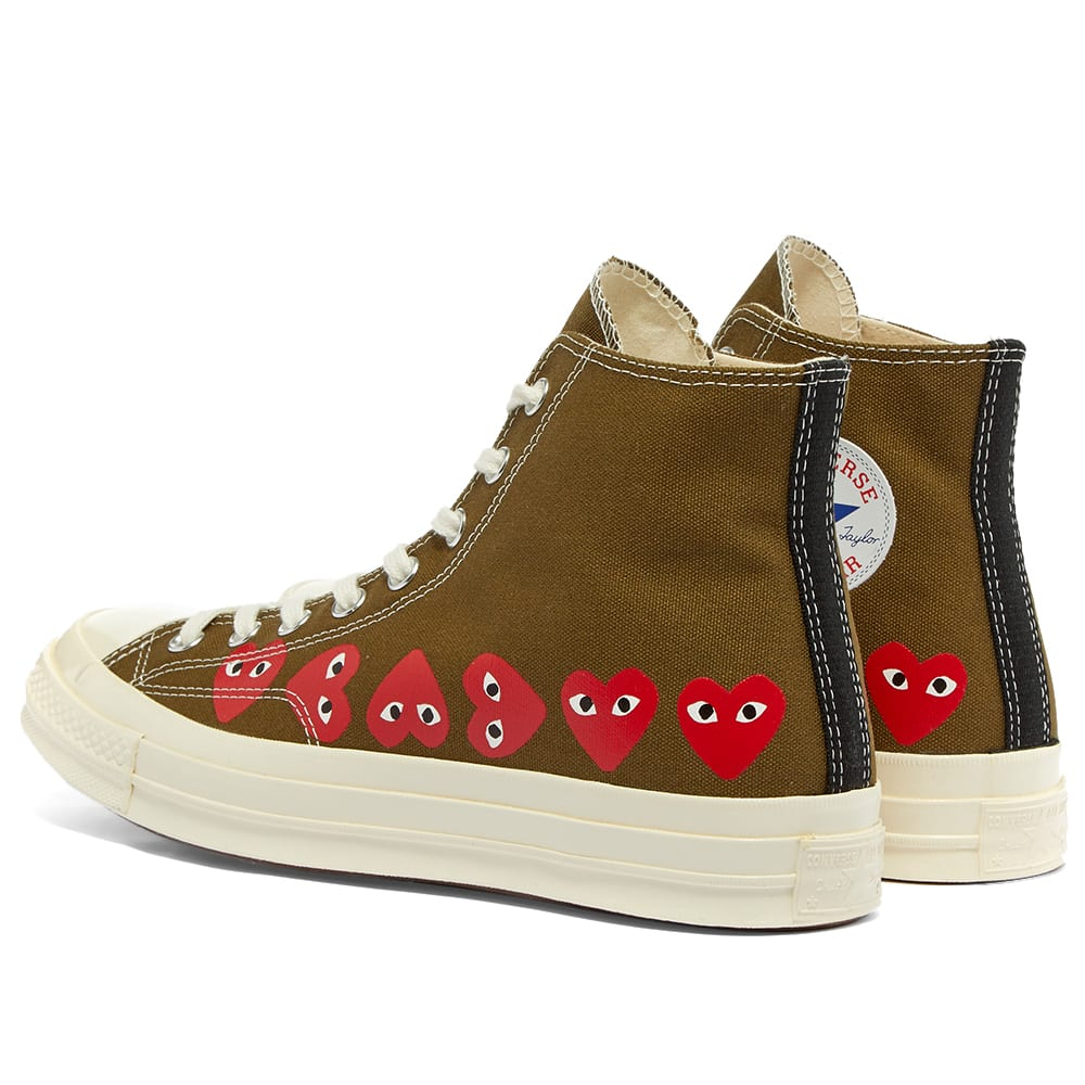 X Converse Chuck Taylor Multi Heart 1970s High top Sneakers