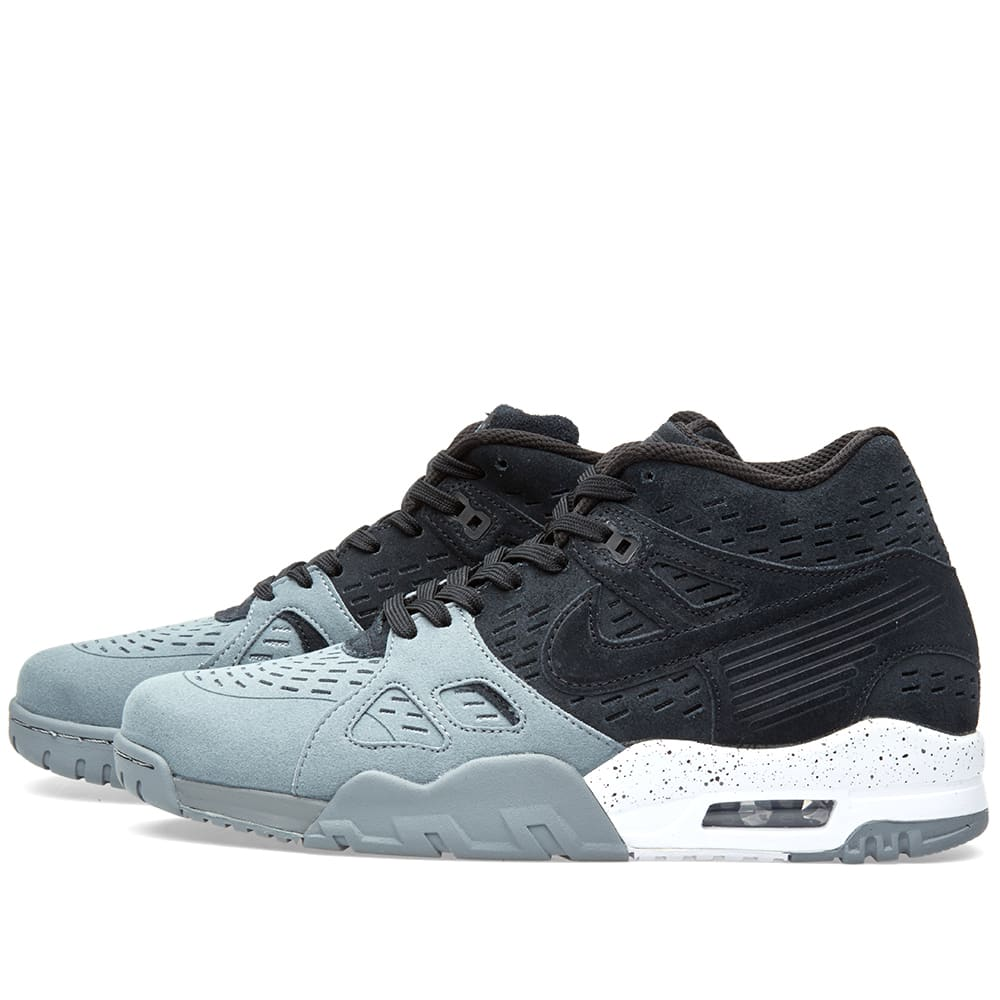separation shoes 62ffb 88612 Nike Air Trainer III LE Black   Cool Grey   END.
