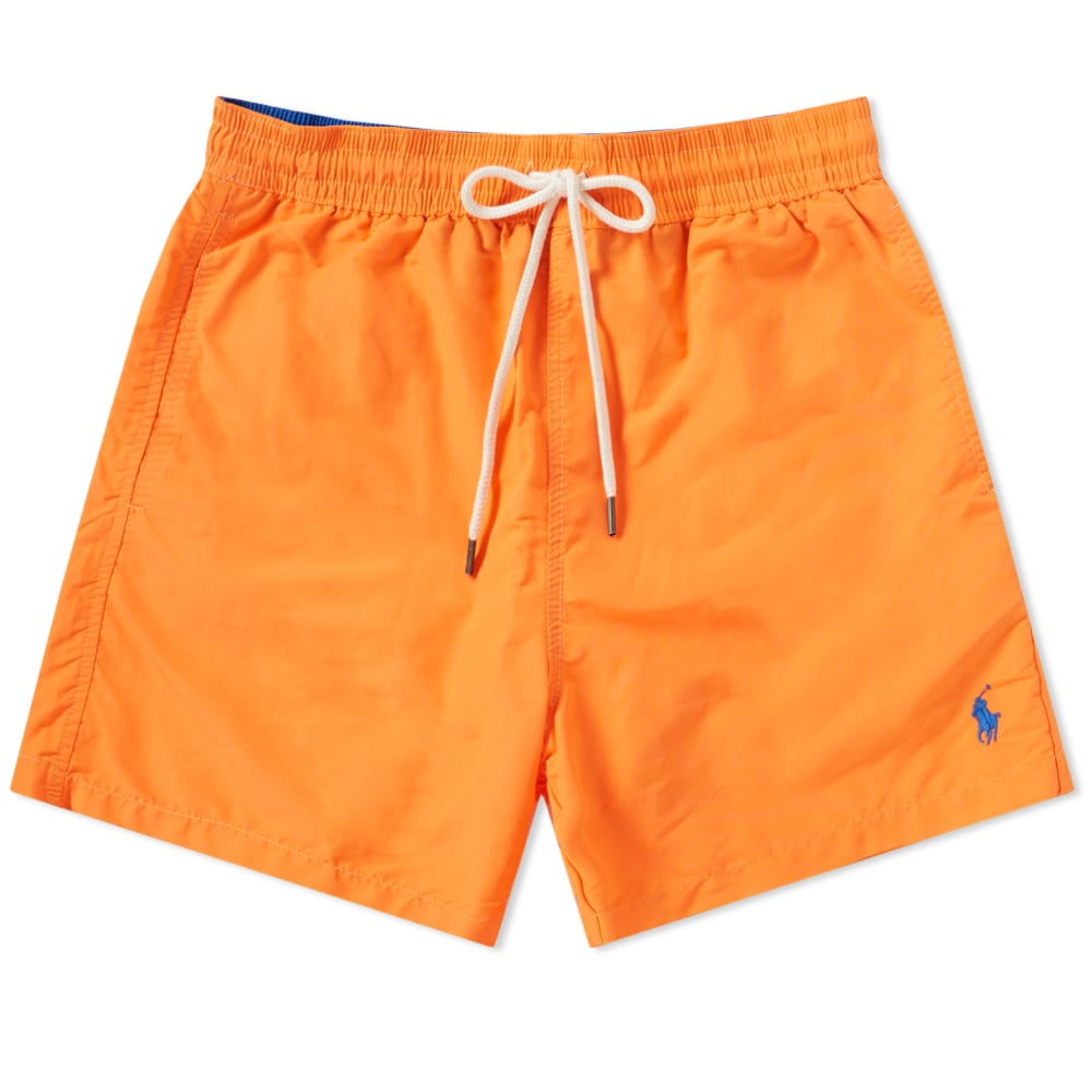 90b860390d Polo Ralph Lauren Classic Traveller Swim Short Flare Orange | END.