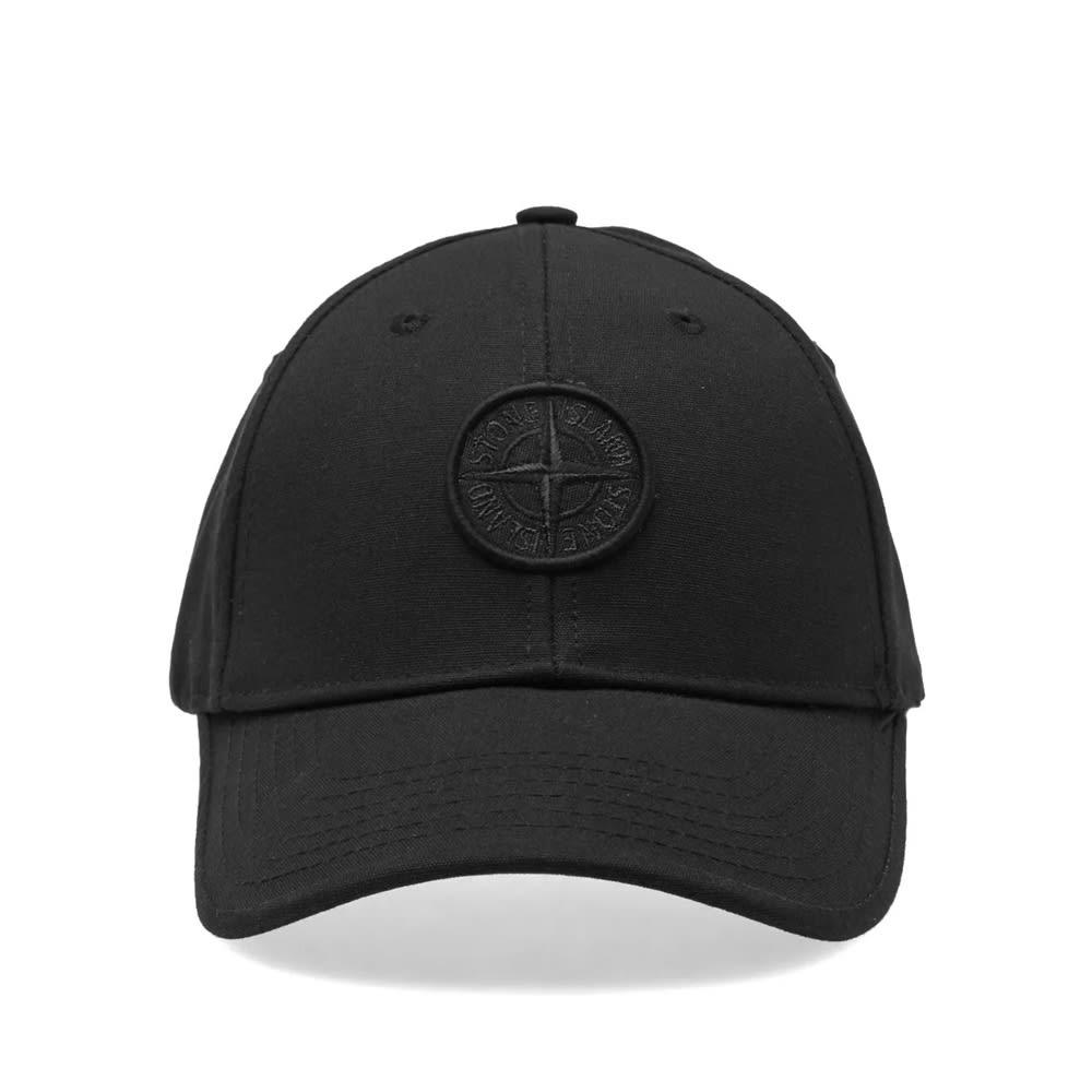 0ebe3dd532ddb Stone Island Junior Compass Cap Black