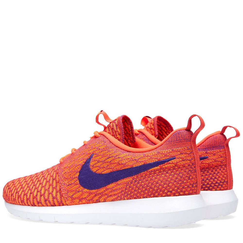 hot sale online 41e7f cdc78 Nike Flyknit Roshe Run