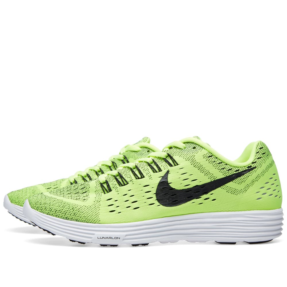 online store 614b3 71656 Nike Lunartempo. Volt, Black   White