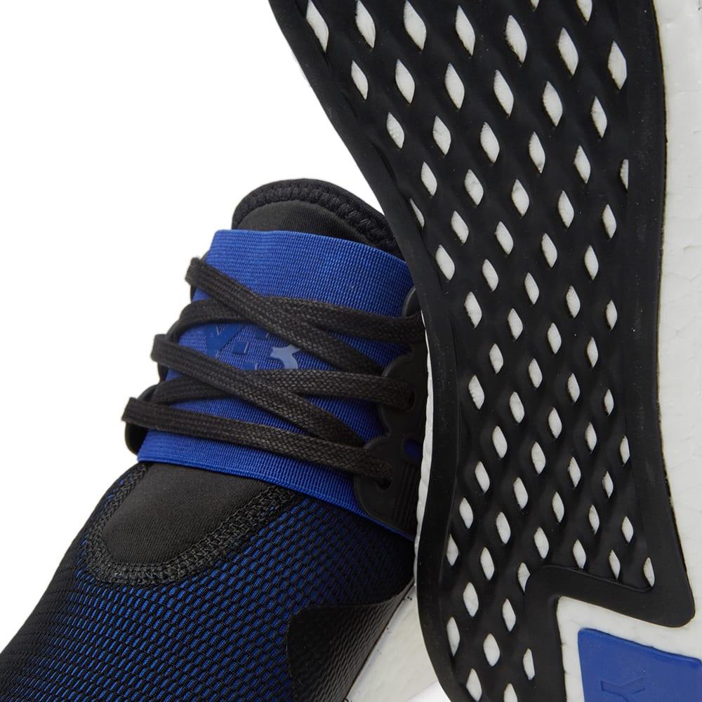 e8452bdacc215 Y-3 Retro Boost Black   Electric Blue