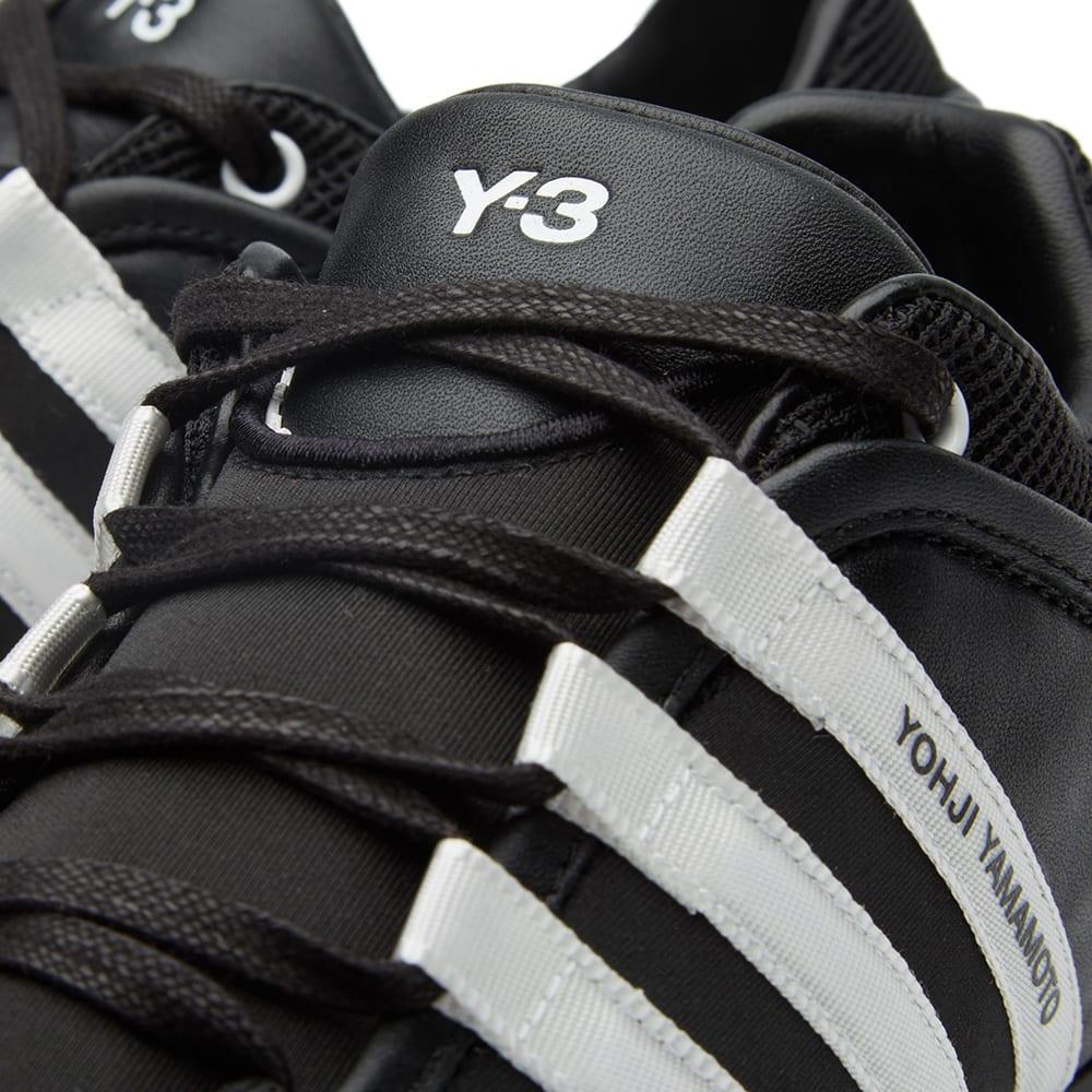 cd612faa334f7 Y-3 Boxing Trainer Black   White