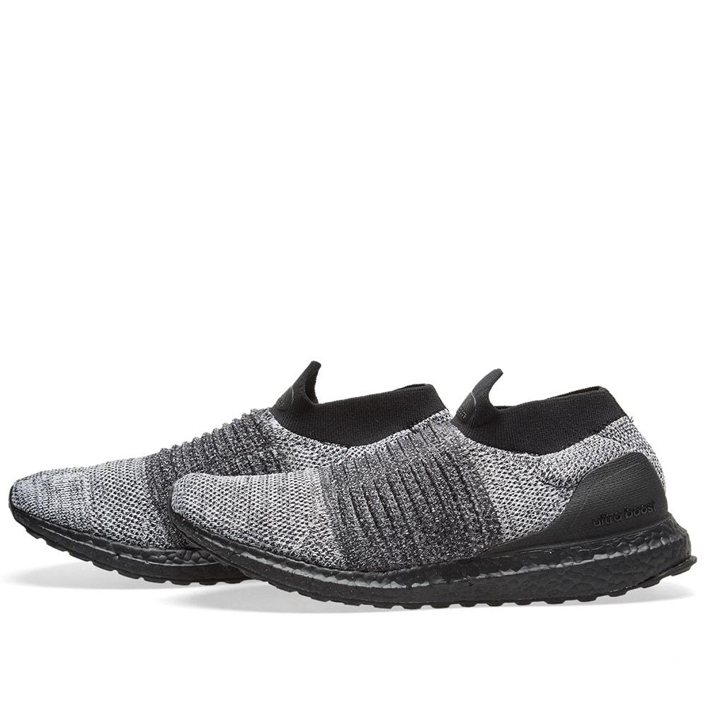 218da822bca67 Adidas Ultra Boost Laceless Black   White