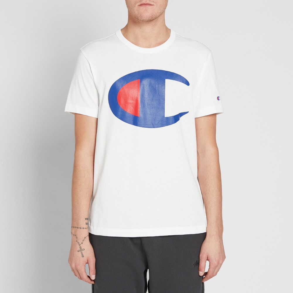 3125a37d Champion Reverse Weave Large C Tee White | END.