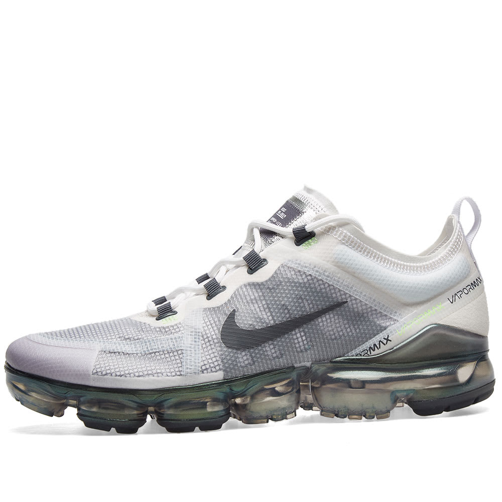 official photos b591c aecfa Nike Air VaporMax 2019 Premium White, Grey, Platinum   Lime   END.