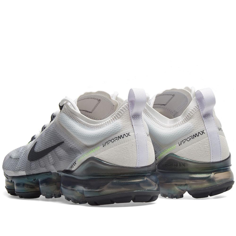 1bc204e7549 Nike Air VaporMax 2019 Premium White, Grey, Platinum & Lime | END.