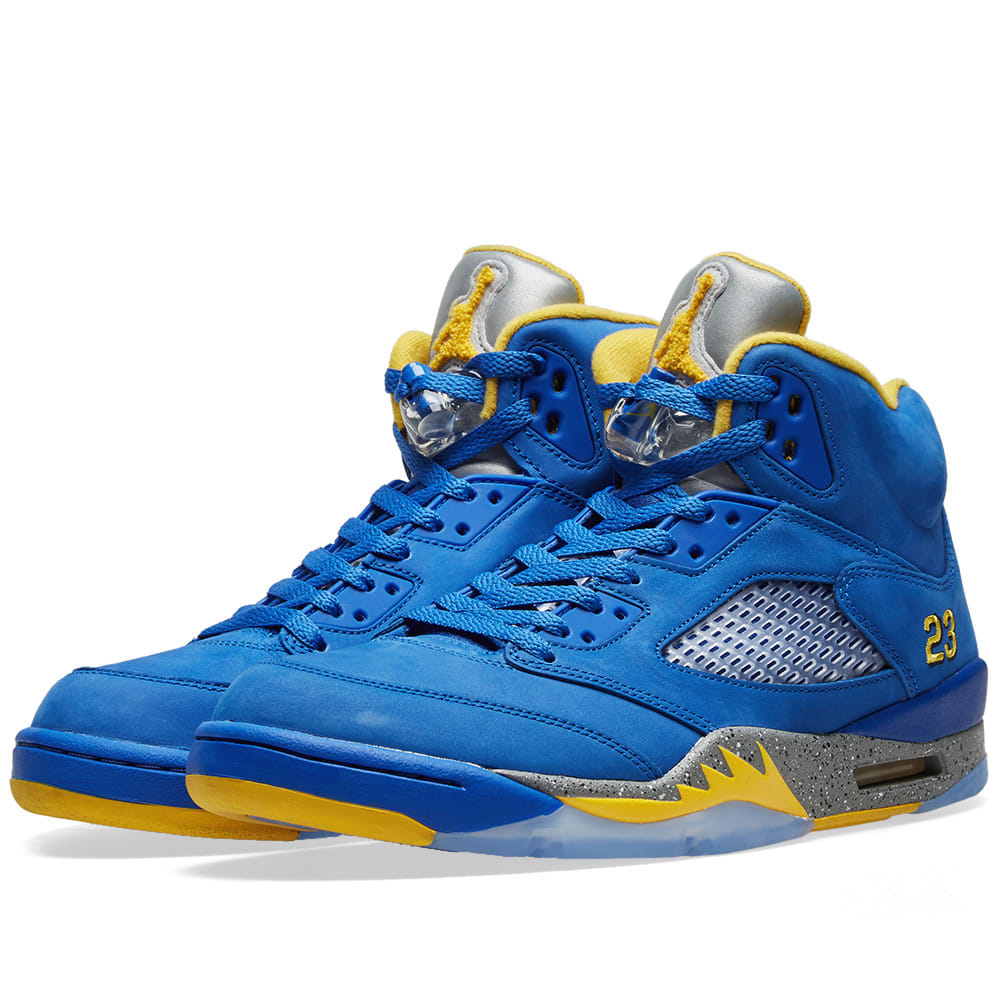 9f25f472809fcd Air Jordan 5 Retro Laney Varsity Royal   Maize