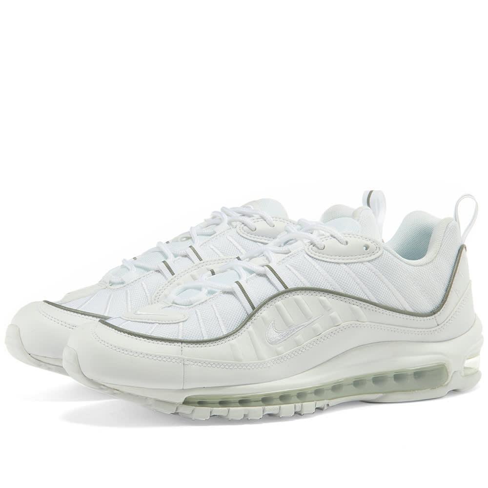 cuchara manejo instinto  Nike Air Max 98 W White | END.