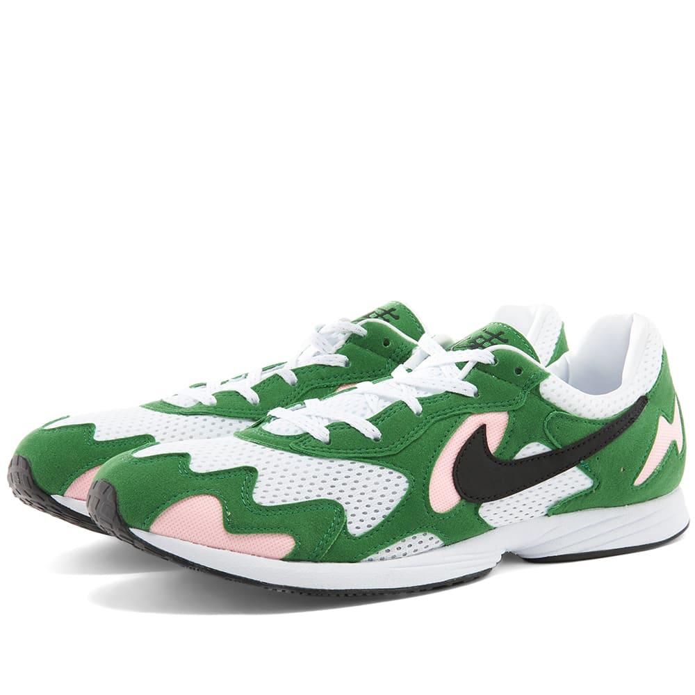 Privación claridad Tratamiento Preferencial  Nike Air Streak Lite Aloe Verde, Black & White | END.