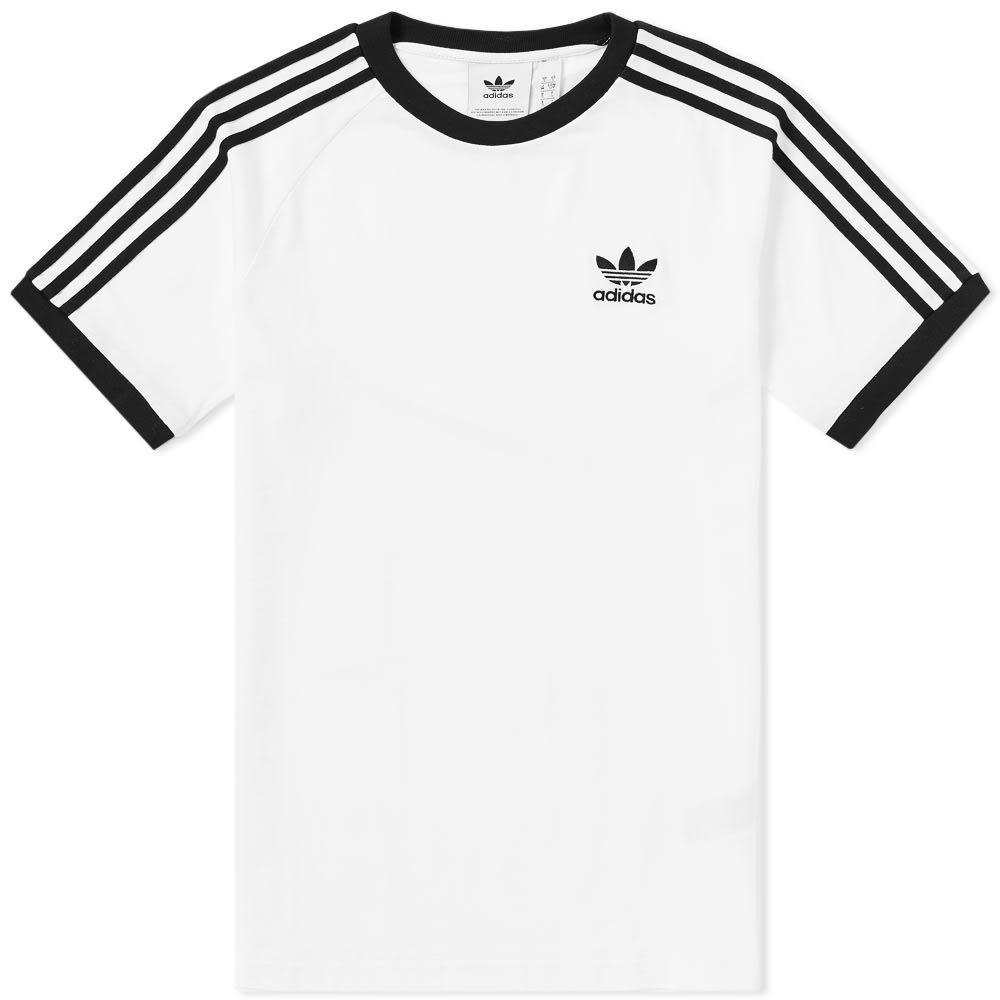 a9c7fd26 Adidas Originals Nova Retro Soccer T-Shirt In White Ce1641 - White ...