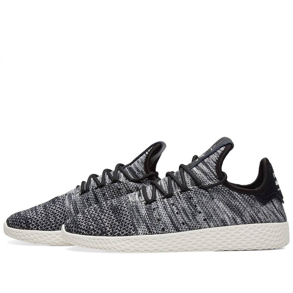 2df31ab97358c Adidas x Pharrell Williams Tennis HU PK Chalk White   Black