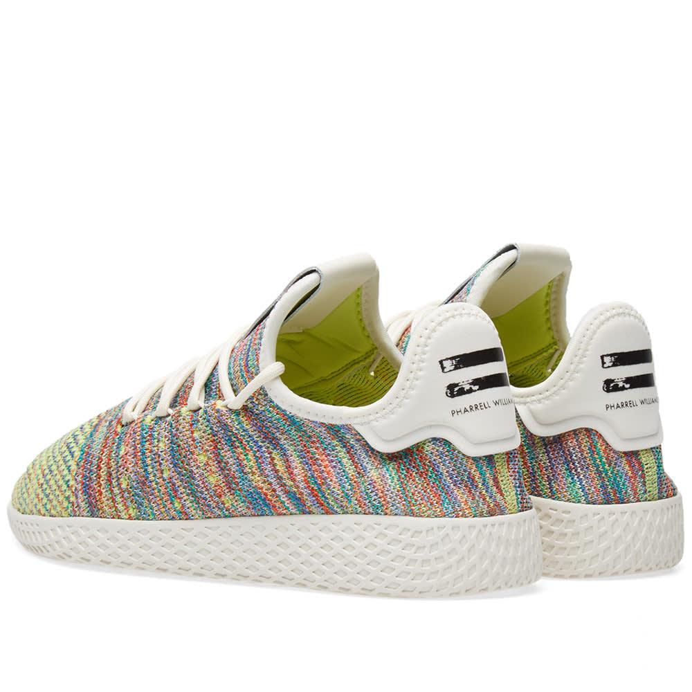 0bc8877925b0d Adidas x Pharrell Williams Tennis Hu PK Green