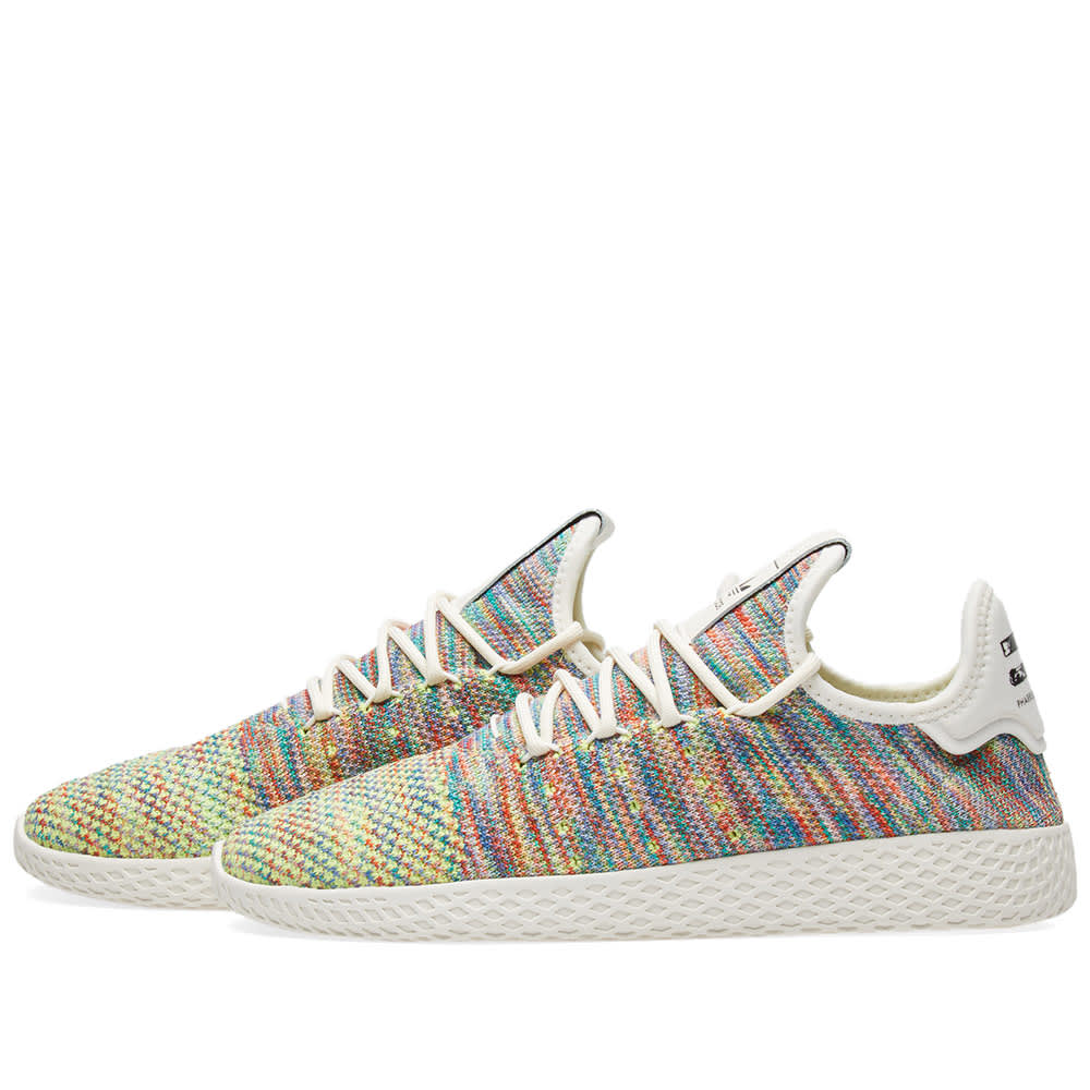 1bcfb2ed702ed Adidas x Pharrell Williams Tennis Hu PK Green