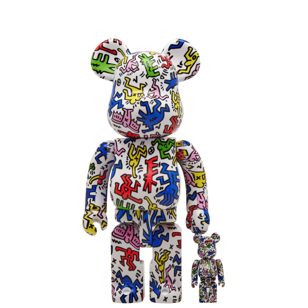 1690b924 Medicom x Keith Haring Be@rbrick Multi 100% & 400% | END.