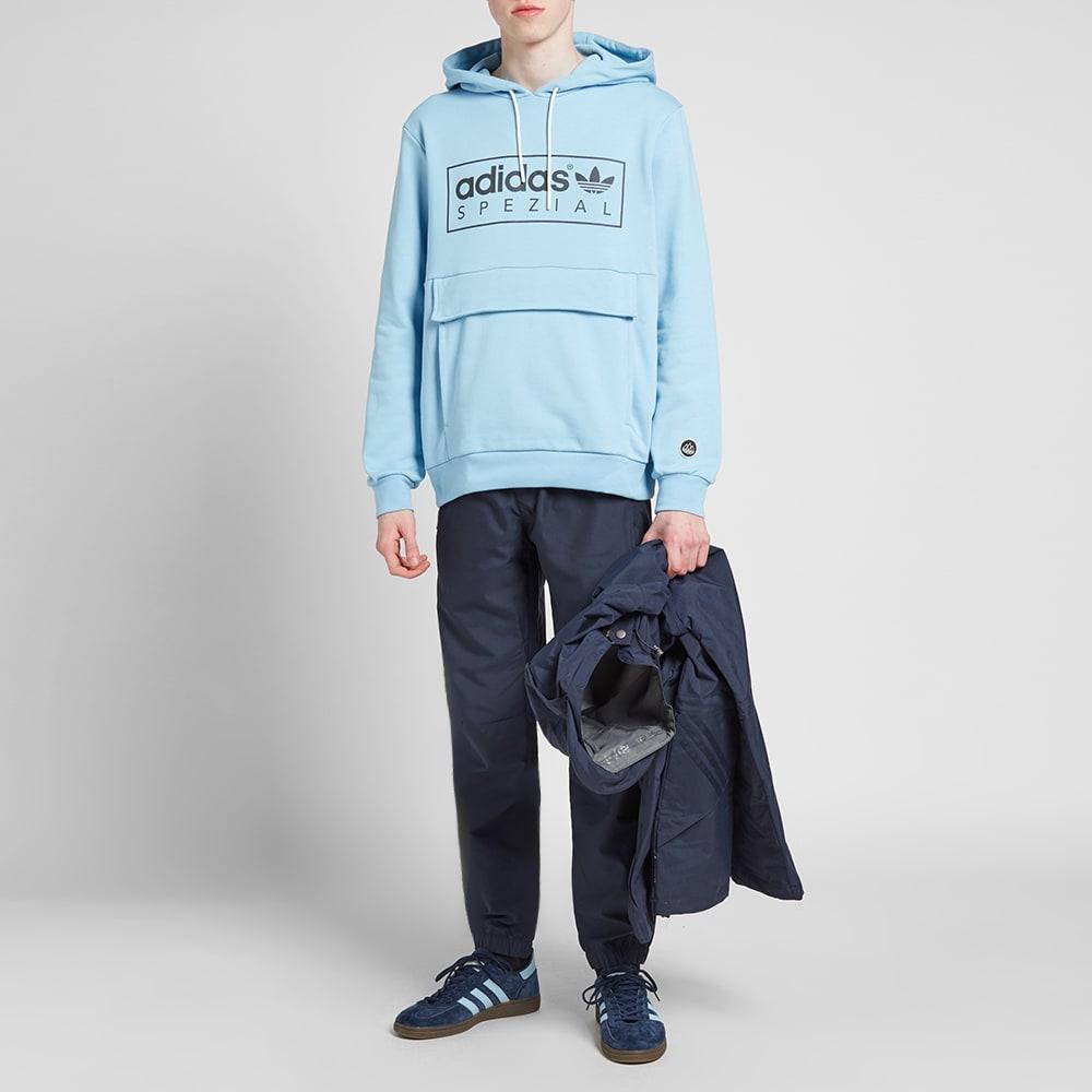 Adidas SPZL Banktop Popover Hoody Clear