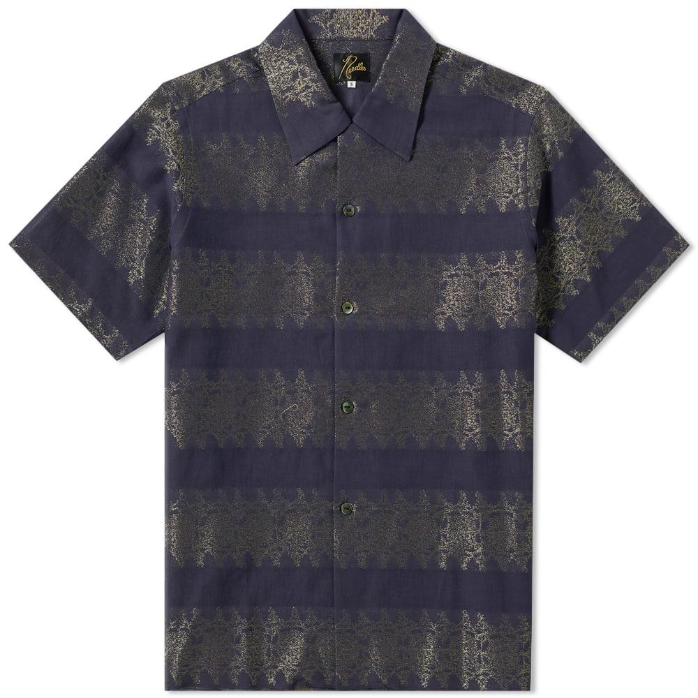 Needles T-shirts NEEDLES JACQUARD VACATION SHIRT