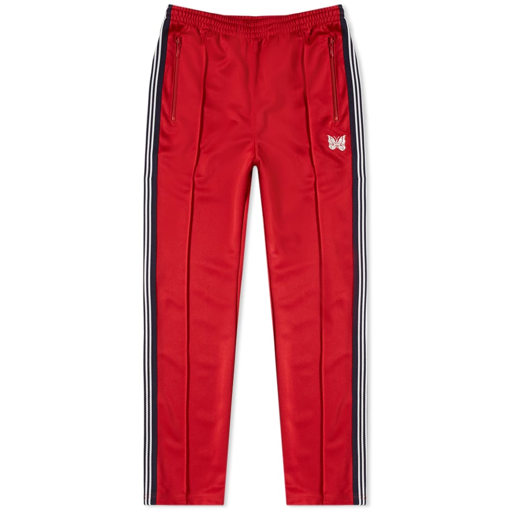 51d79938 Needles Narrow Track Pant Red | END.
