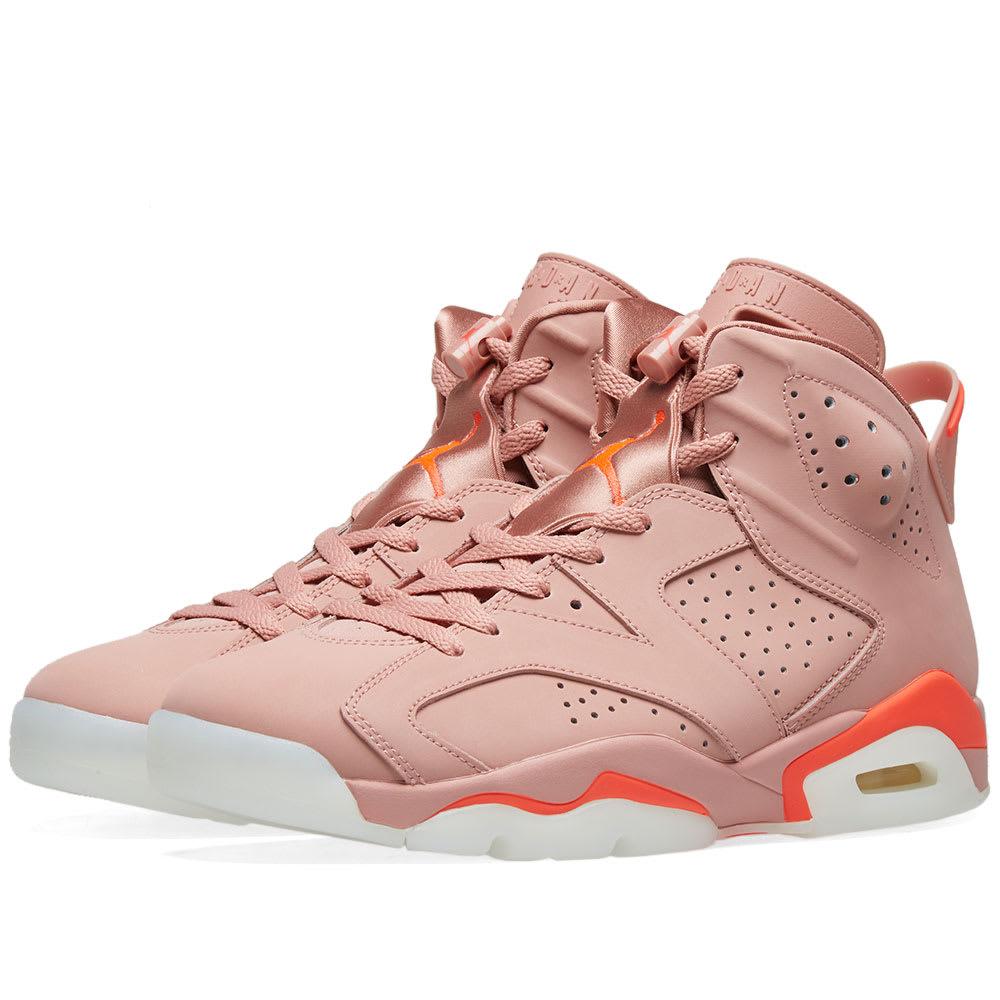 Air Jordan 6 Retro Rust Pink \u0026 Bright