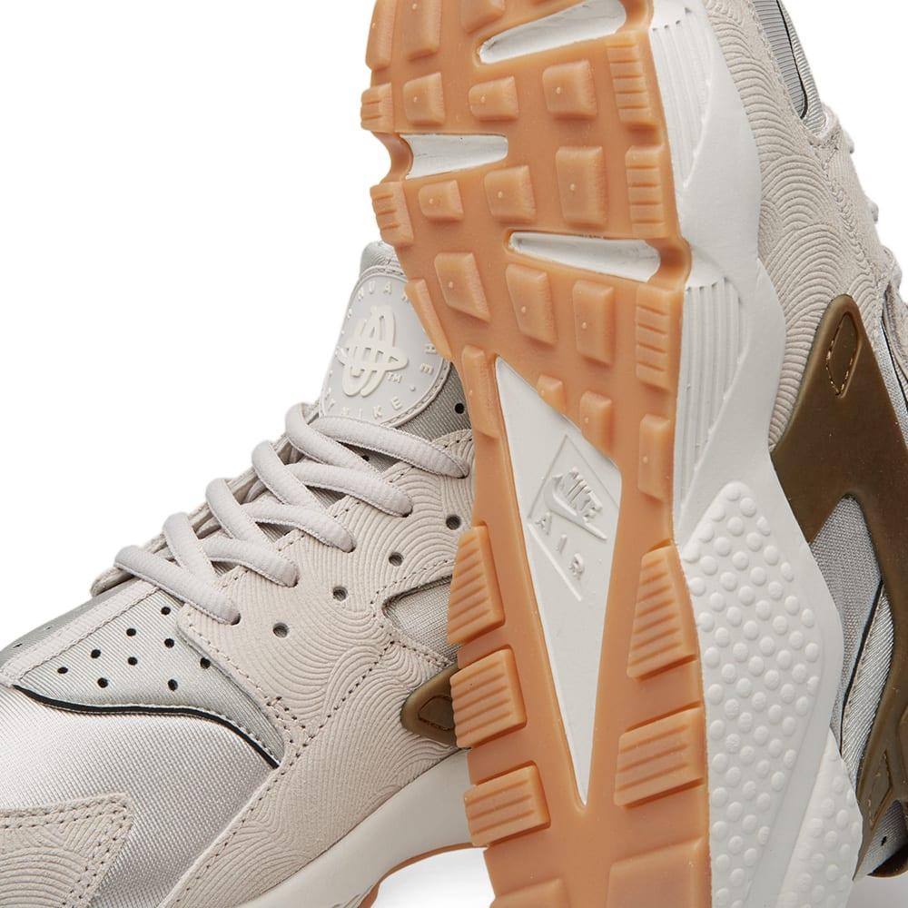 1e47353a86203 Nike W Air Huarache Run Premium Suede Gamma Grey   Phantom
