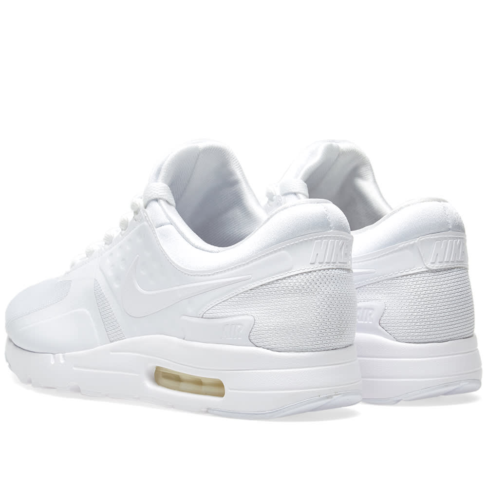 online store 92808 61b28 Nike Air Max Zero Essential White, Wolf Grey   Platinum   END.
