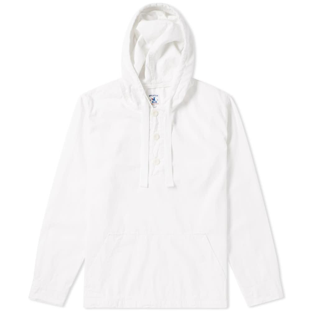 ARPENTEUR Arpenteur Toast Popover Jacket in White