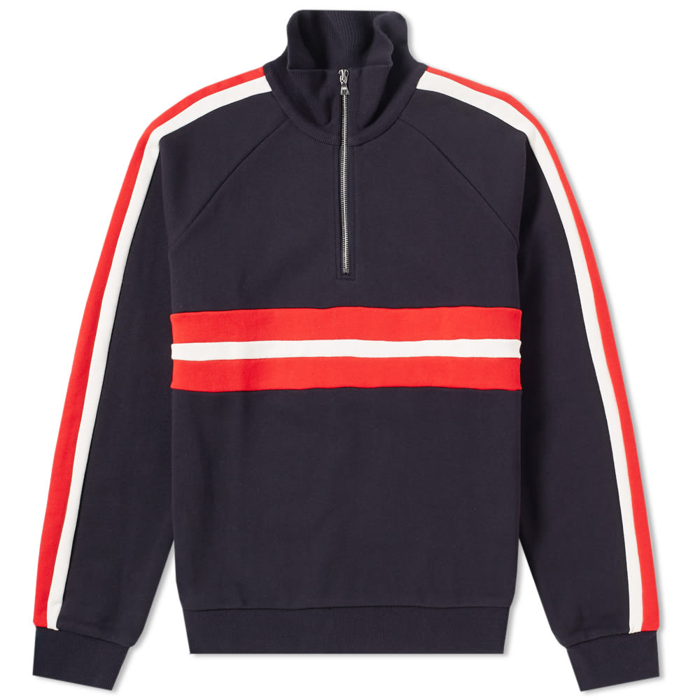 HARMONY SOFIAN HALF ZIP SWEAT