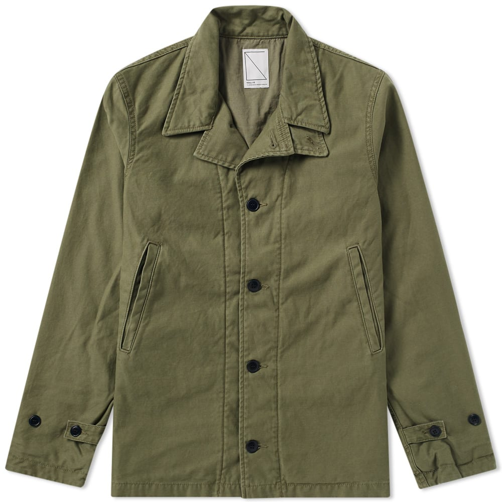 SOULIVE Soulive Archetype Field Jacket in Green